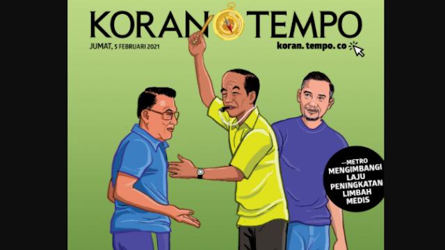 Jokowi Tak Balas Surat AHY, tapi Tegur Moeldoko Secara Internal