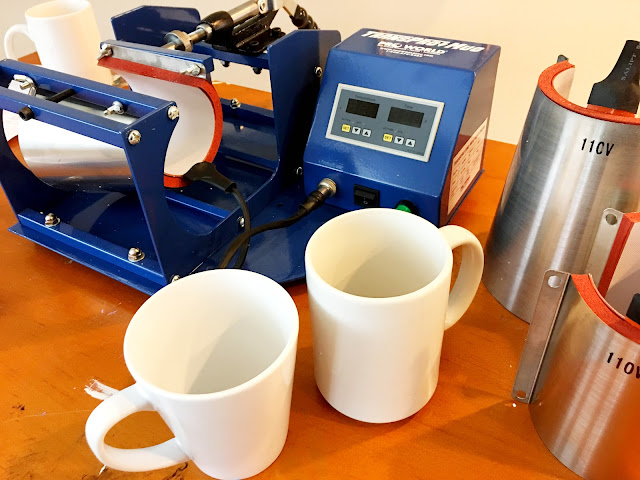 Mug press, Mug Heat Press, mug press machine, mug heat press machine, Silhouette CAMEO projects to sell