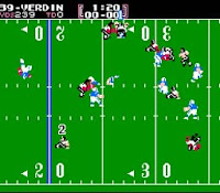 Here is a snapshot of #NES #TecmoBowl! #Nintendo