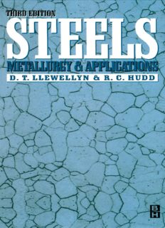 Steels: Metallurgy and Applications, Third Edition By D.T LLEWELLYN & R.C. HUDD