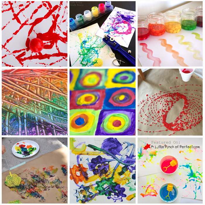 30 Fun Ways To Paint With Kids Process Art Ideas