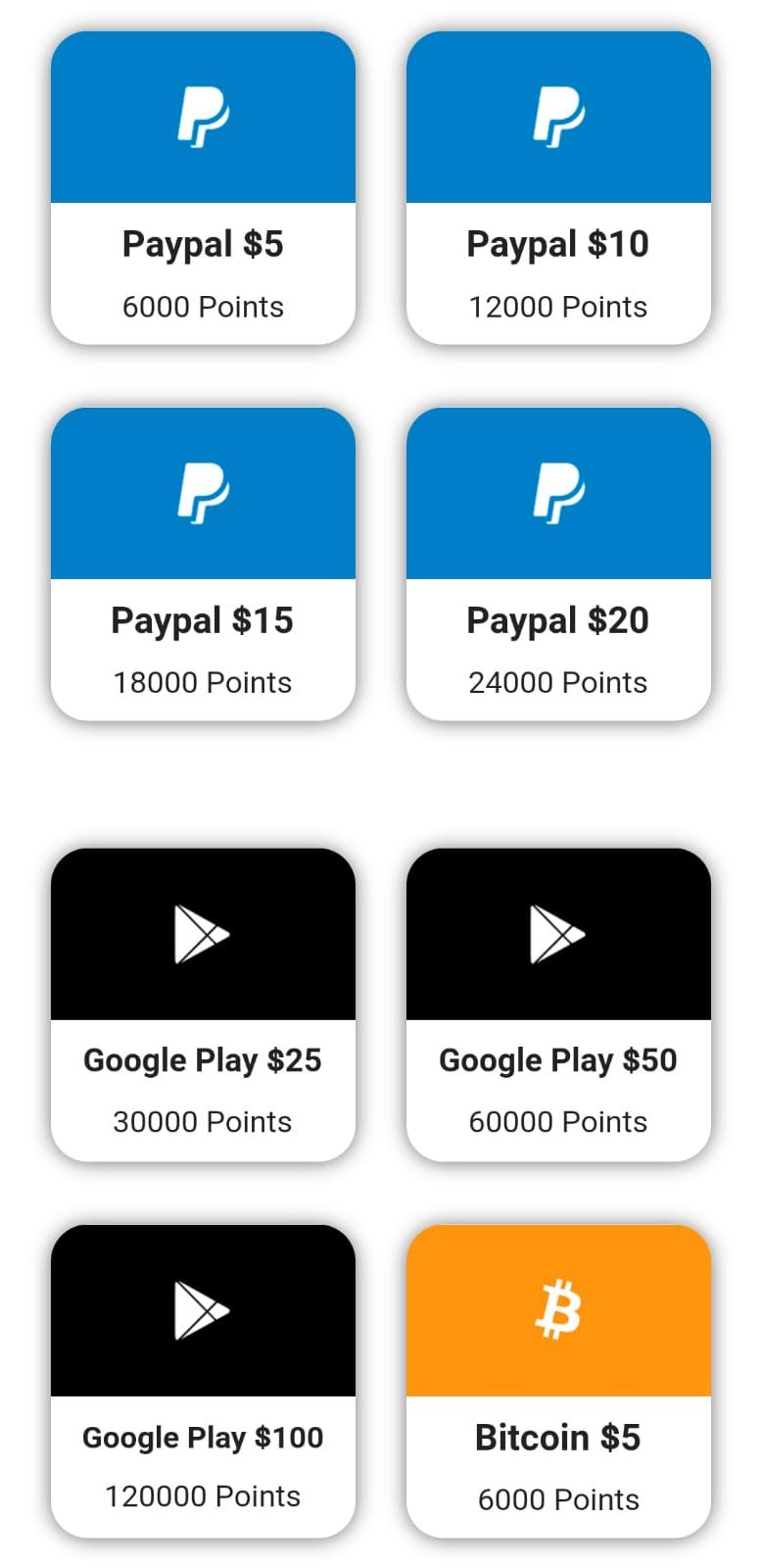 تطبيق بسيط وسهل لربح رصيد باي بال مجانا 2021 + ربح بطاقات جوجل بلاي مجانا 2021 + جواهر فري فاير مجانا 2021
