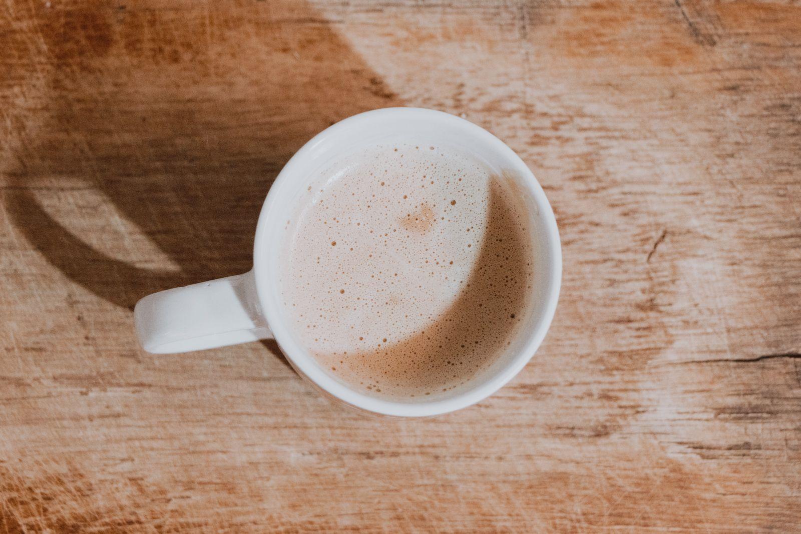 caneca de café com leite