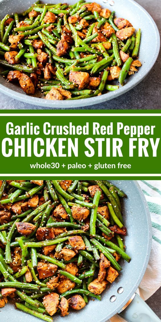 GARLIC CRUSHED RED PEPPER CHICKEN STIR FRY #recipes #dinnerrecipes #quickdinnerrecipes #deliciousdinnerrecipes #quickanddeliciousdinnerrecipes #food #foodporn #healthy #yummy #instafood #foodie #delicious #dinner #breakfast #dessert #lunch #vegan #cake #eatclean #homemade #diet #healthyfood #cleaneating #foodstagram