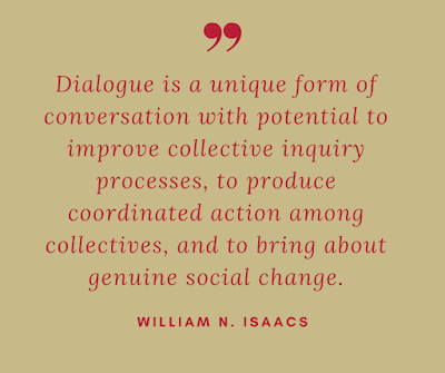 Isaacs Quote on Dialogue