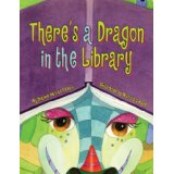 theres a dragon in the library cover