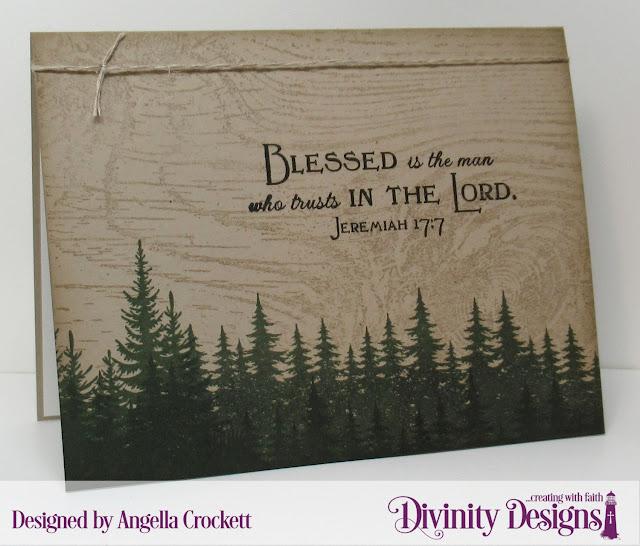 Divinity Designs LLC: Seek Me, Wood Background, Dad; Card Designer Angie Crockett