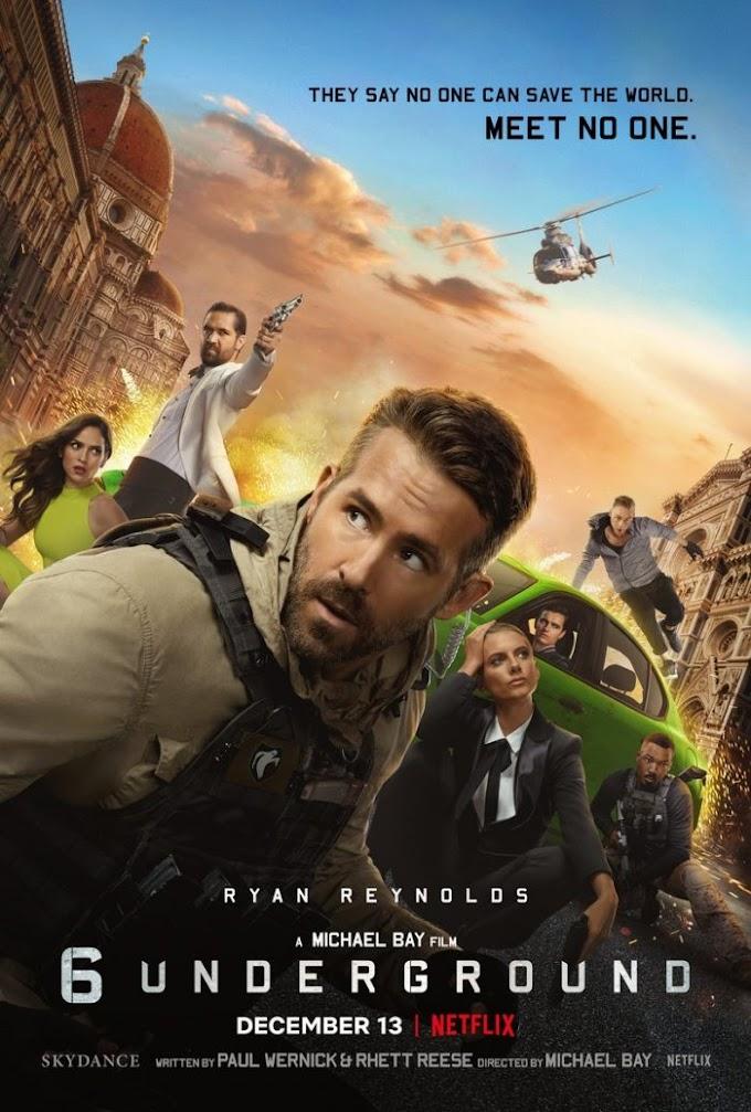 Nuevo trailer de 6 Underground la película de Netflix con Ryan Reynolds y Michael Bay