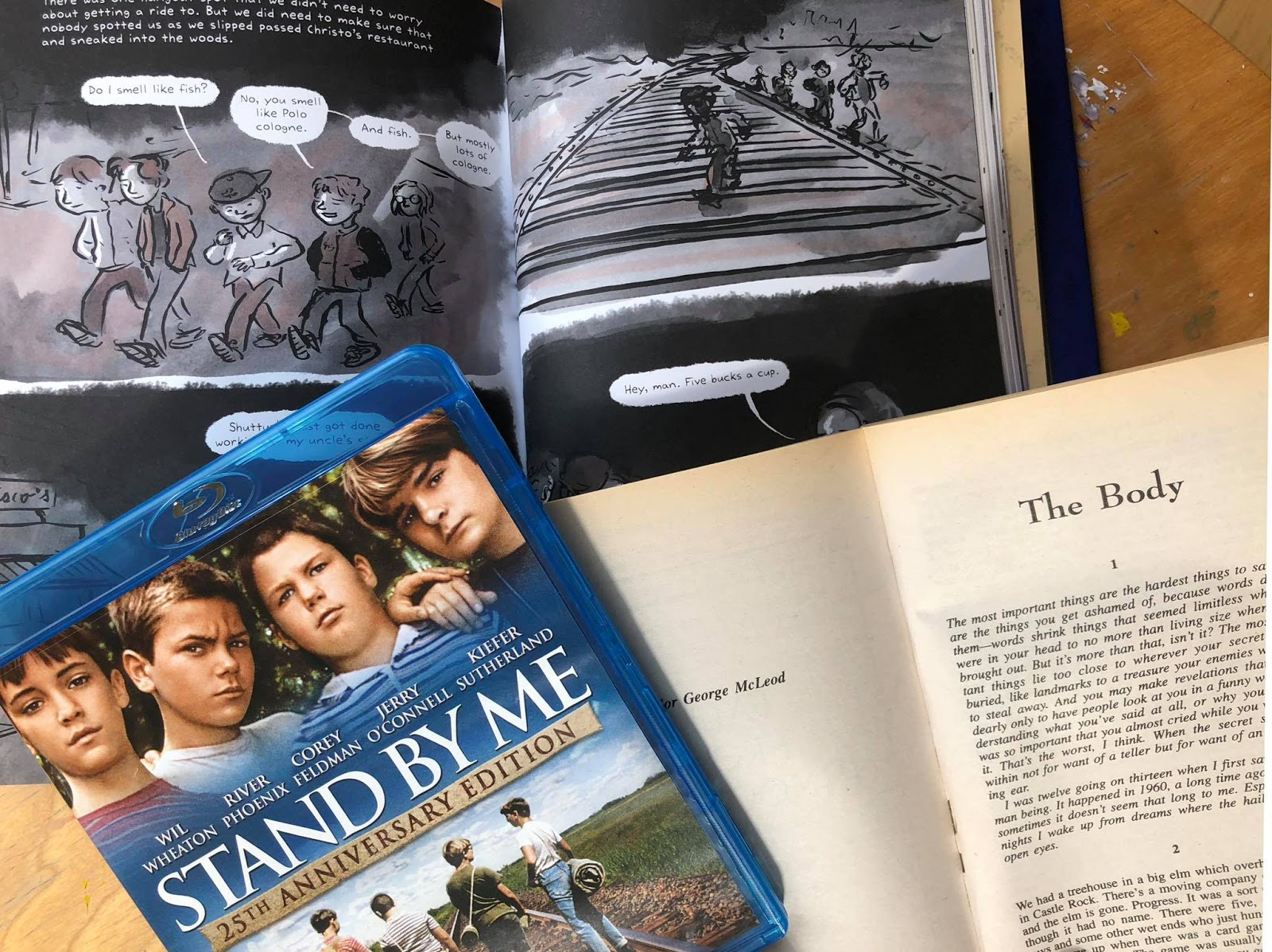 stand by me novel