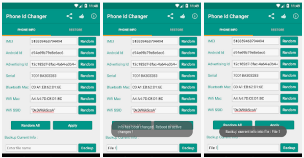 hacking tips and trick: Device Id Changer Pro Apk v1 5 5 Free Download