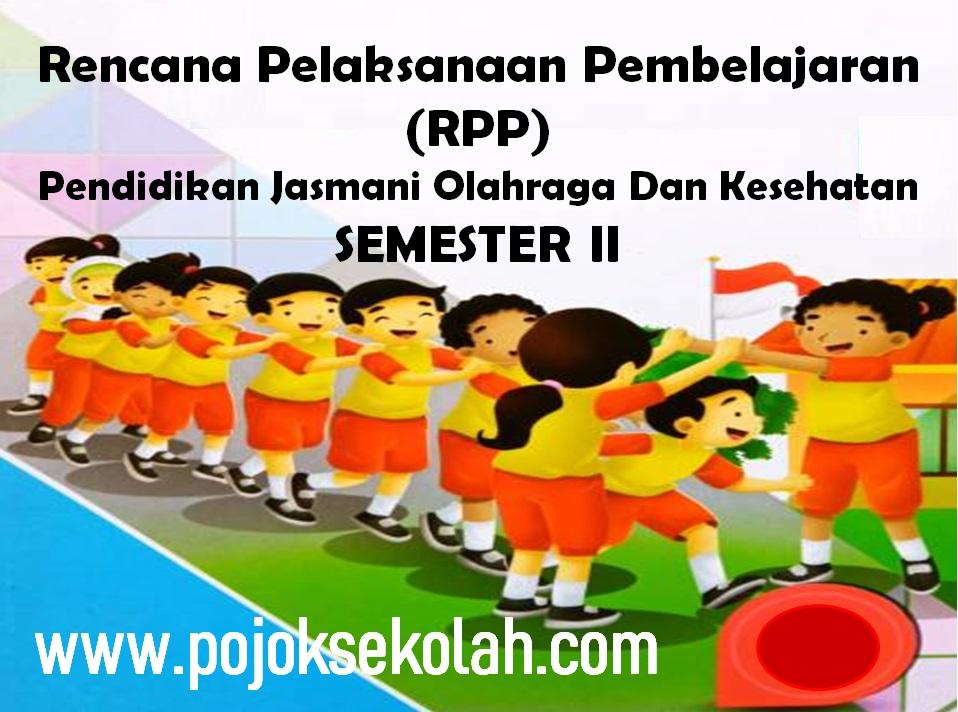 RPP 1 Lembar PJOK Semester 2