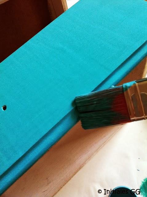 Initiales Gg Test La Peinture Monocouche Colours De