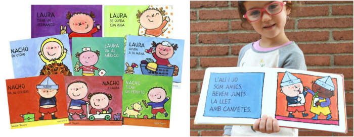 cuentos infantiles inpiracion filosofia educacion montessori coleccionn laura nacho