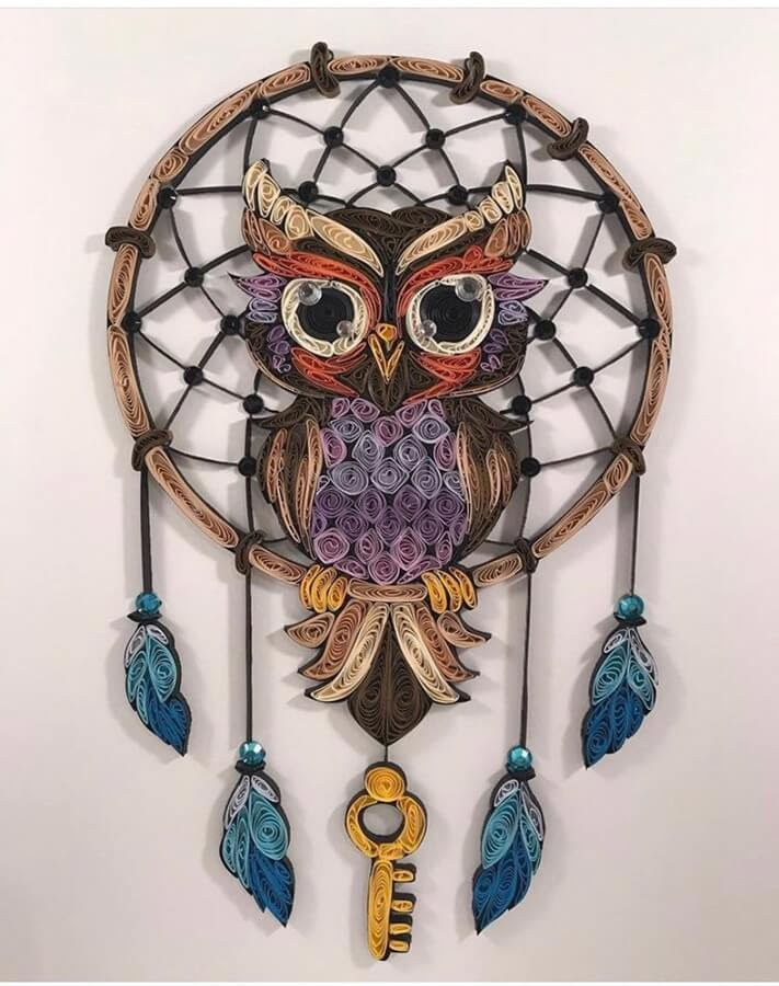 02-DreamCatcher Owl-Jennifer-Avallone-www-designstack-co