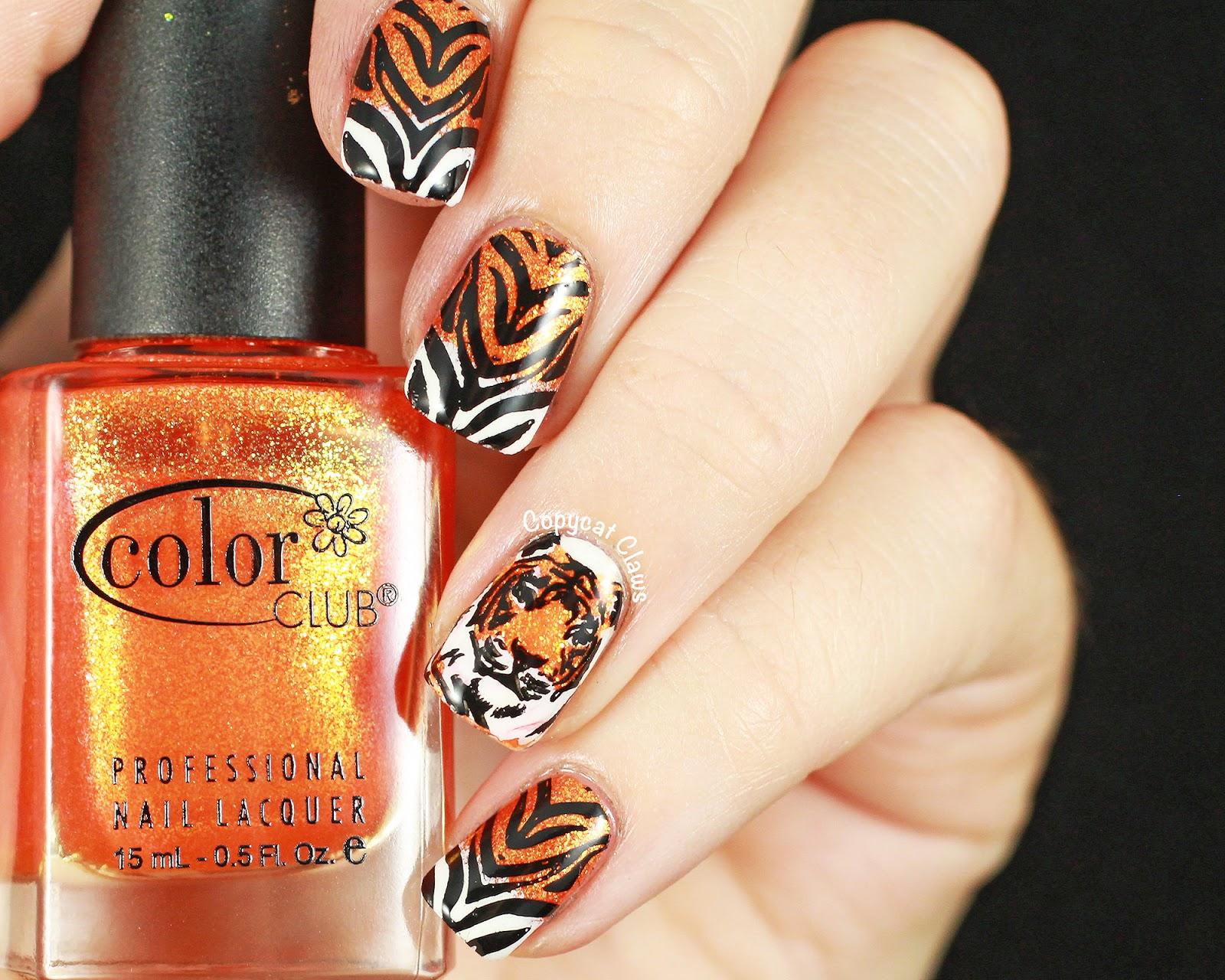 Tiger Nails!