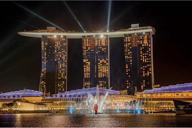 Luxury of Singapore's most famous resort