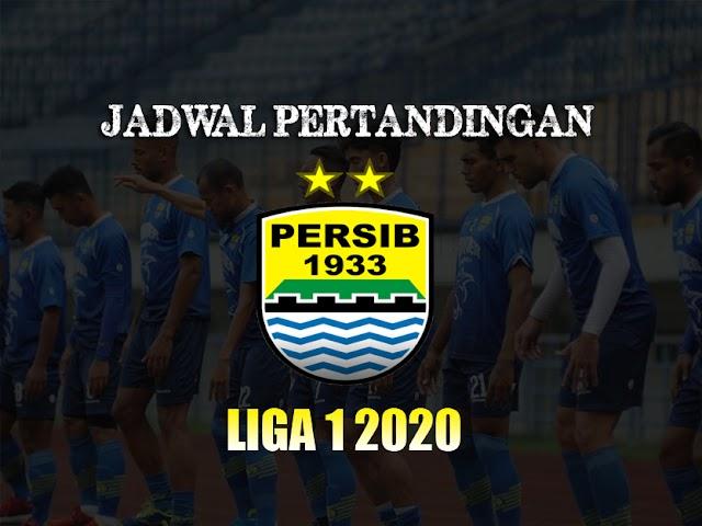 Inilah Pertandingan Persib di Liga 1 Indonesia 2020