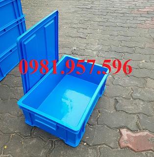 Thùng nhựa đặc B4, thùng nhựa đặc B4 đựng phụ tùng linh kiện