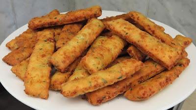 Hrskavi Štapići od Sira ▪️ Crispy Cheese Sticks