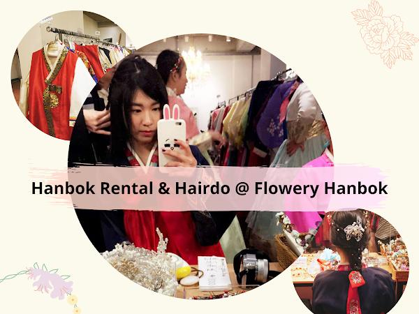 가자 Korea Diary 17: Renting a Hanbok & Getting Hair Makeover @ Flowery Hanbok 꽃같은한복