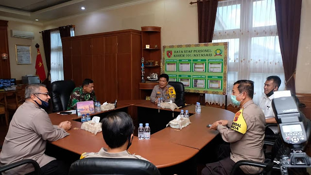 Nico Afinta Ikuti Rapat Koordinasi Perkembangan Penanganan COVID-19 di Kalimantan Selatan