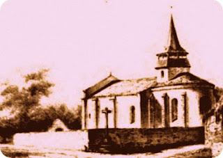 Petite église d'un village Auvergnat.