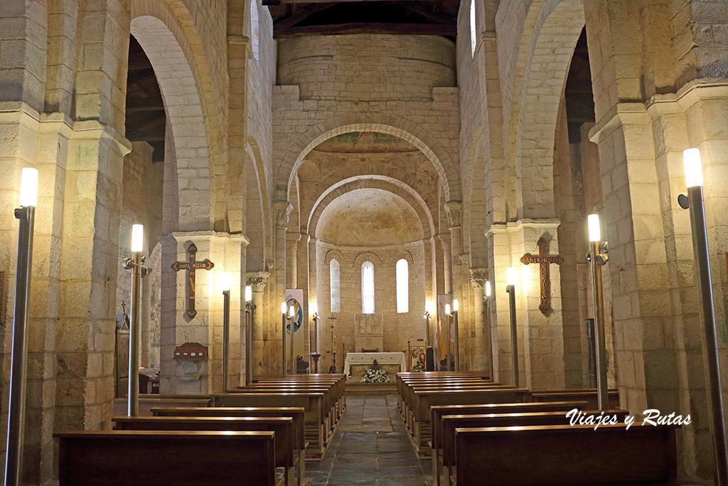 Interior de San Martiño de Mondoñedo, Lugo