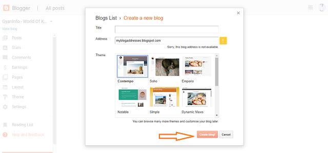 Blogger क्या है