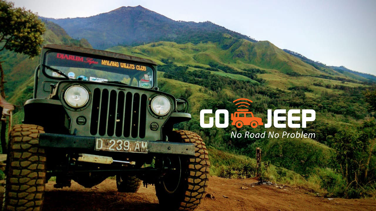 budug asu malang offroad jeep willys