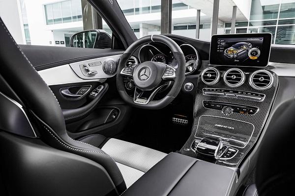 Interior Mercedes-AMG C 63 S Coupé Argentina