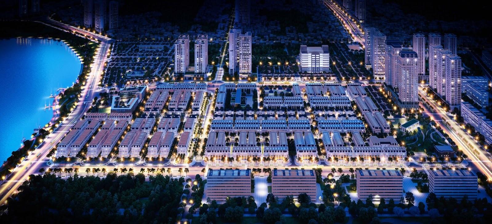 Quy hoạch khu đô thị Louis City Hoàng Mai
