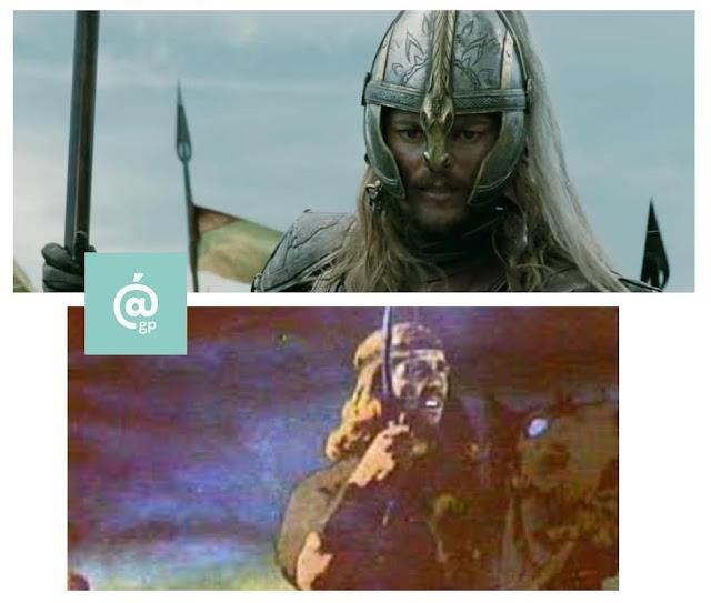 Eomer - El Señor de los Anillos: Peter Jackson Vs Ralph Bakshi - JRRTolkien - ÁlvaroGP - el fancine - el troblogdita
