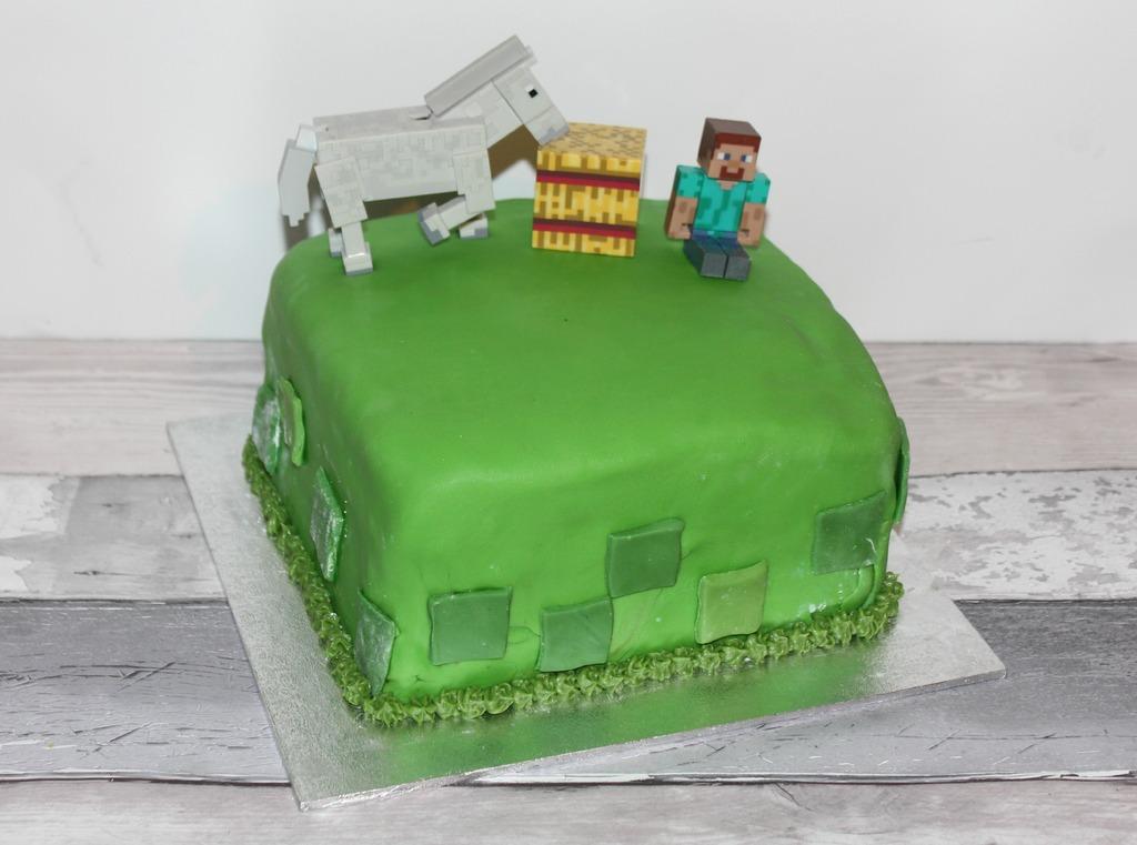 Tremendous Surprise Inside Minecraft Cake Funny Birthday Cards Online Alyptdamsfinfo