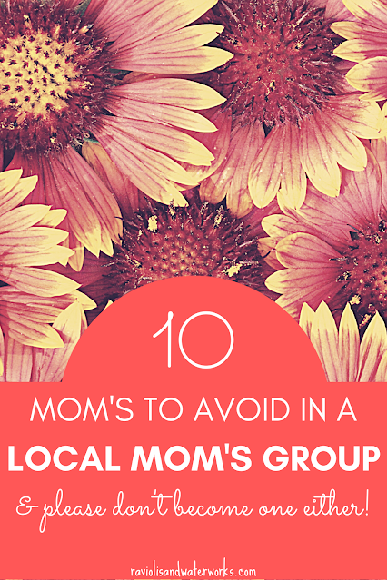 mom's to avoid becoming in a group board
