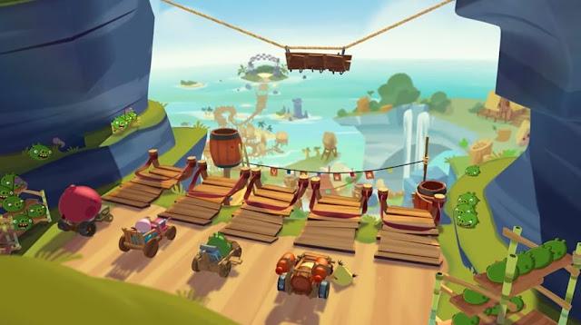 Juego de carreras de carros Angry Birds Go!