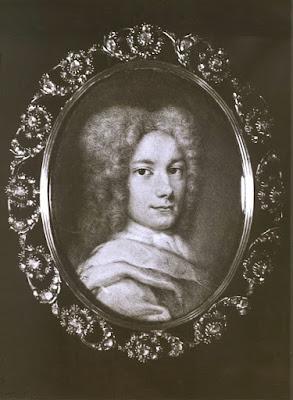 Handel as a young man, c1710 (Handel-Haus, Halle)