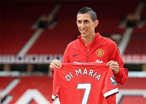Di Maria đến MU với tư cách là cầu thủ đắt giá nhất lịch sử câu lạc bộ