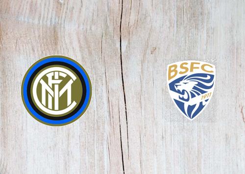 Internazionale vs Brescia -Highlights 01 July 2020