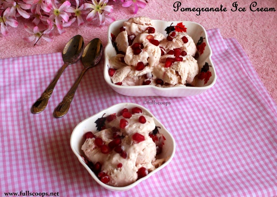 Pomegranate Ice Cream