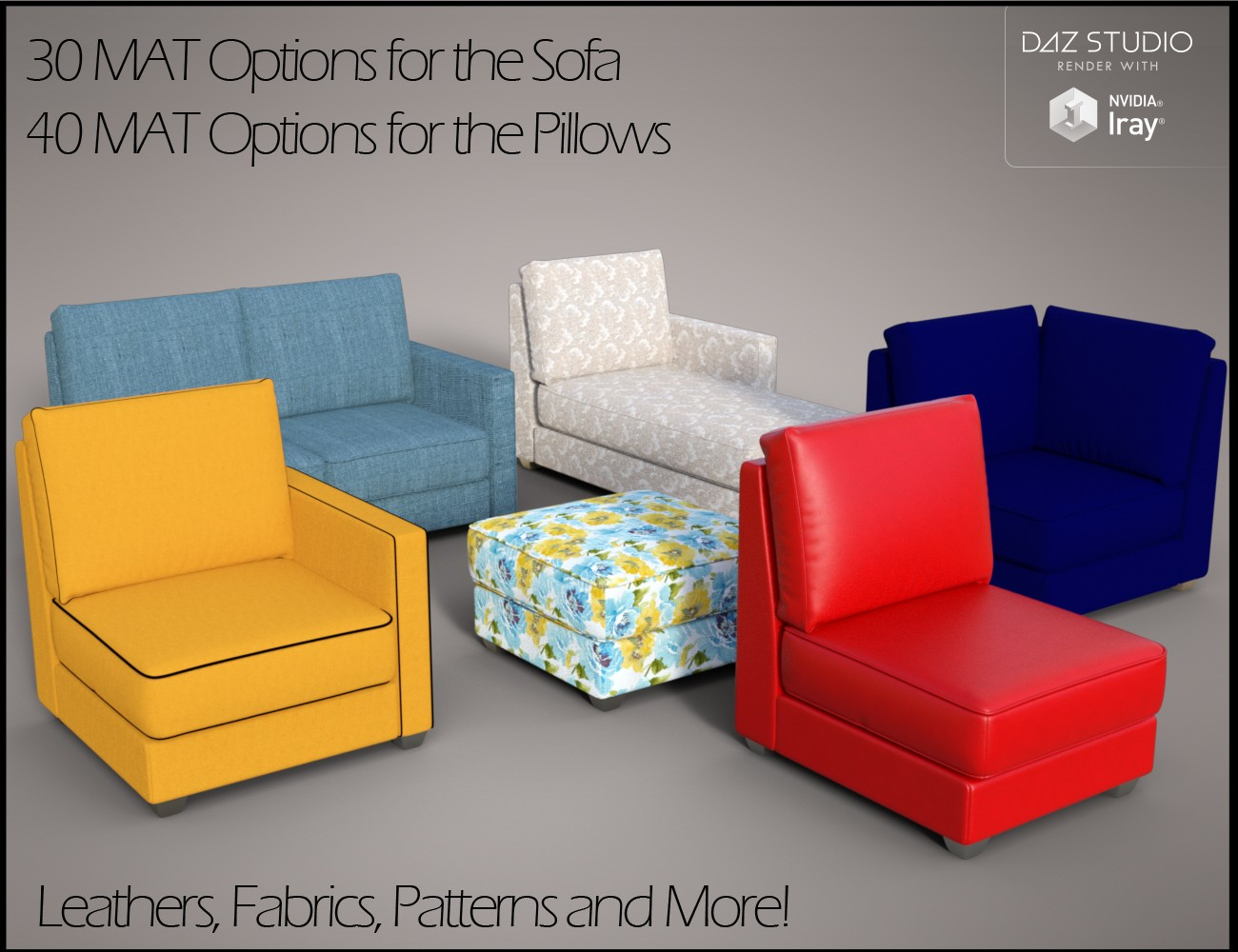 Download daz studio 3 for free daz 3d modular sofa props for Chaise game free download