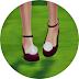 pompom ankle strap flat shoes_폼폼 발목 스트랩 플랫 슈즈_여자 신발