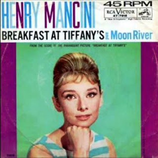 Imagen del single Moon River, Beakfast at Tiffany's - Henry Mancini RCA, 1961