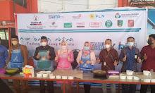 DPK UMKM Sidrap dan UP3 PT PLN (Persero) Pare-Pare mensosialisasikan kompor induksi