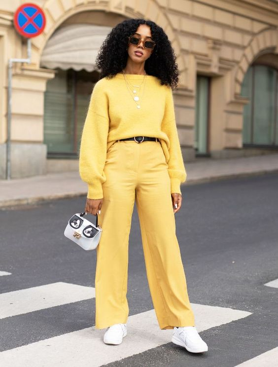 YELLOW FASHION COLOUR TREND