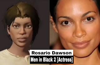 Men in Black 2 Actress