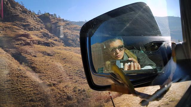 Bhutan road travel