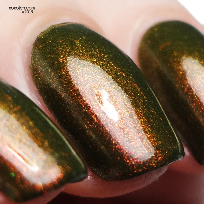 xoxoJen's swatch of kbshimmer Having A Gourd Time