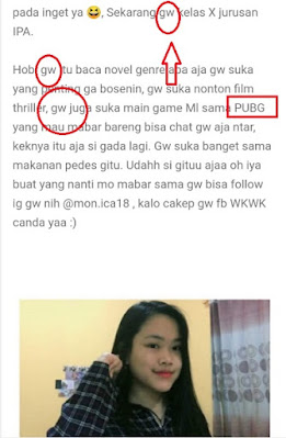 Evaluasi: Penulisan Profil Blog oleh Siswa-Siswi Kelas X SMA Kasih Karunaia Jakarta