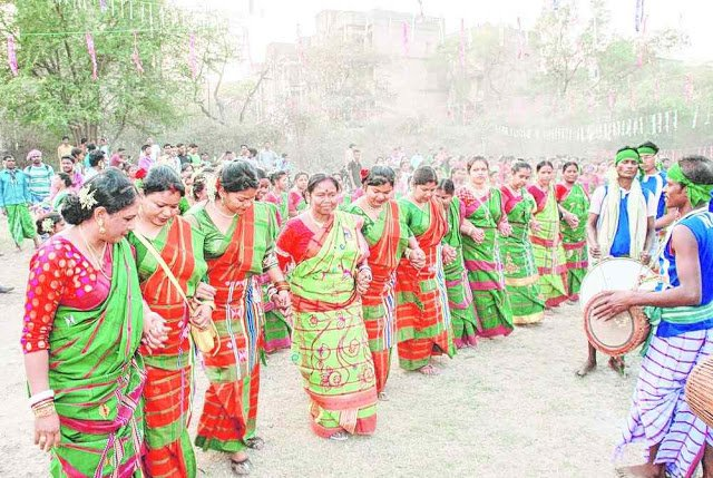 Santali baha dance