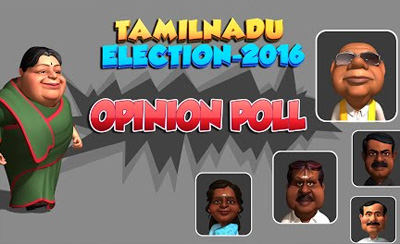 Tamilnadu Election 2016 Animation Part – 2 Massive Opinion Poll Results